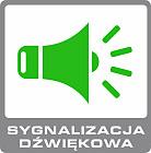 alarm bezprzewodowy gsm ERDA electronic - sygnalizacja dźwiękowa