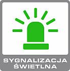 alarm bezprzewodowy gsm ERDA electronic - sygnalizacja świetlna